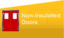 Non Insulated Doors