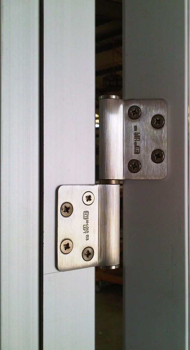 personnel hinge detail