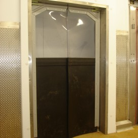 Flexible Double Swing Crash Door