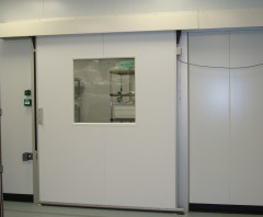 GRP Clean Room Sliding Door