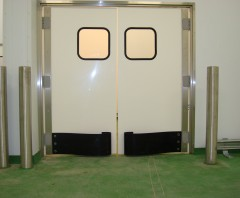 Semi Rigid Double Swing Door